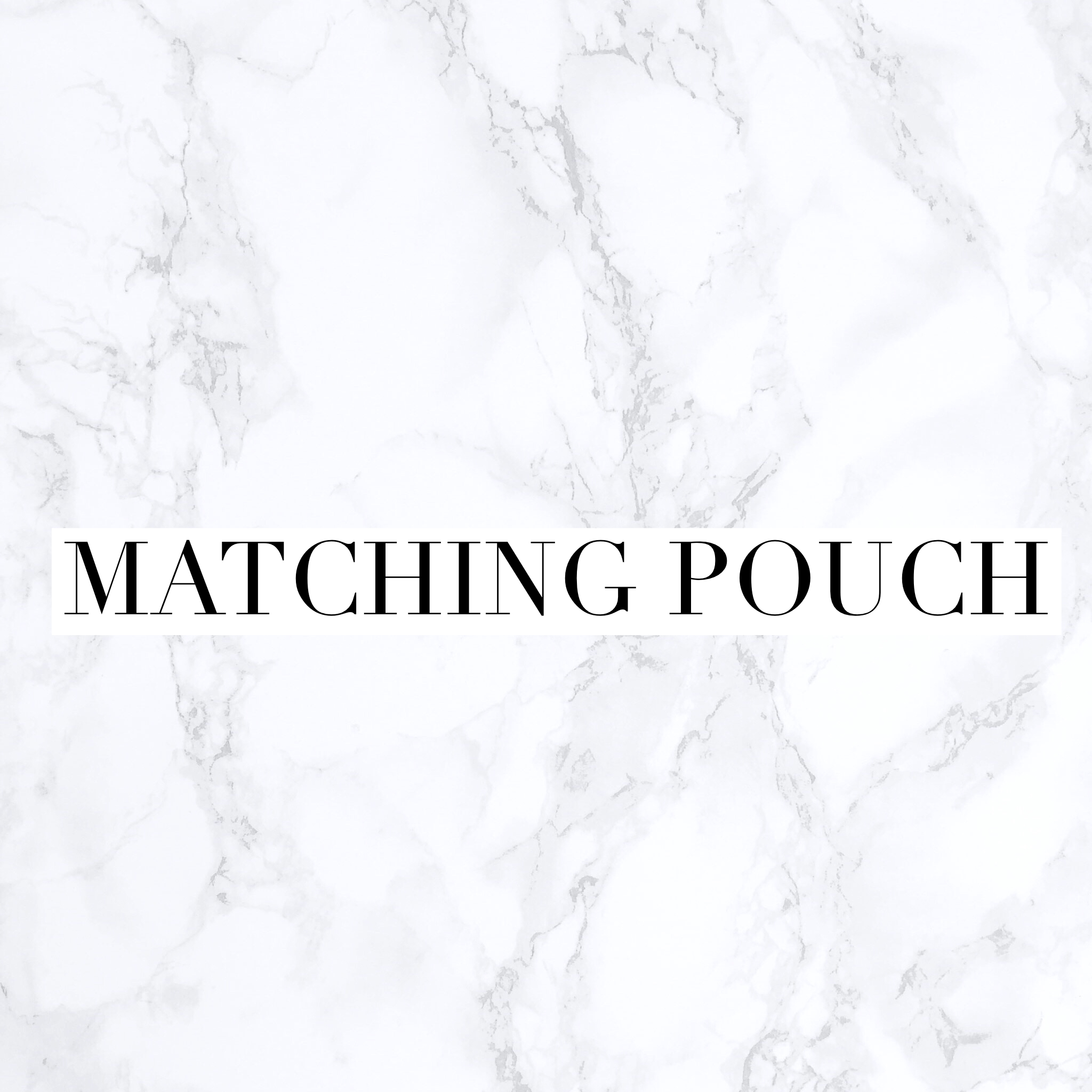 matchingpouch-white